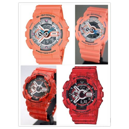 Now which should I choose? Orange or red? Hmmmm... Help me guys... Gshock_Lover ❤️