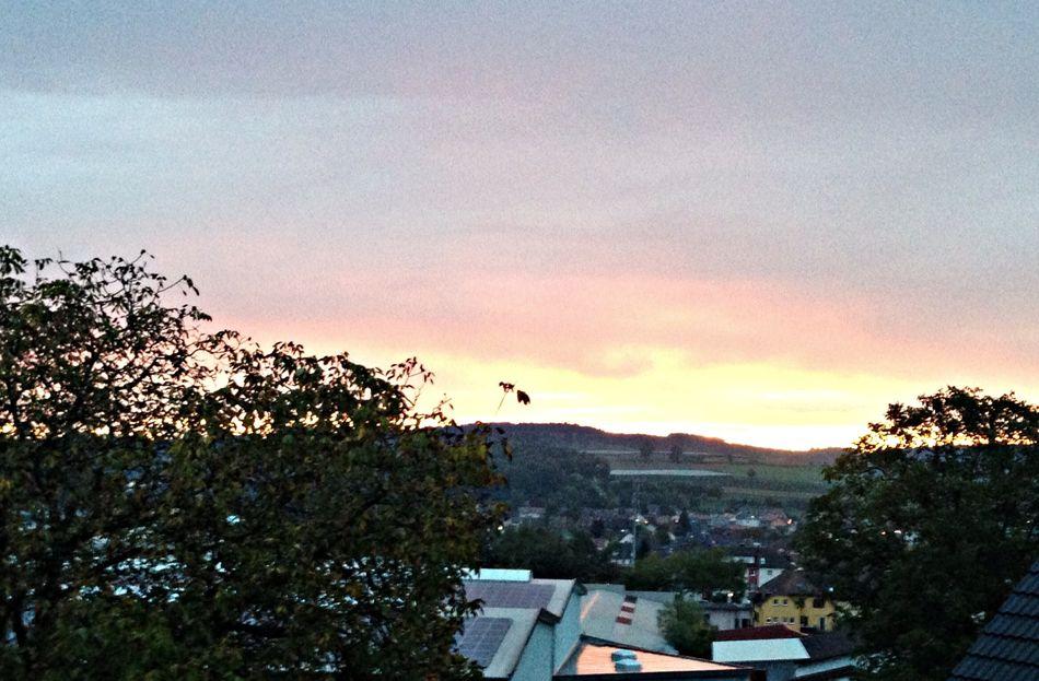 good morning Stockach . Sunset