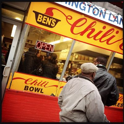 U Street Living at Ben's Chili Bowl by Frederick Espy