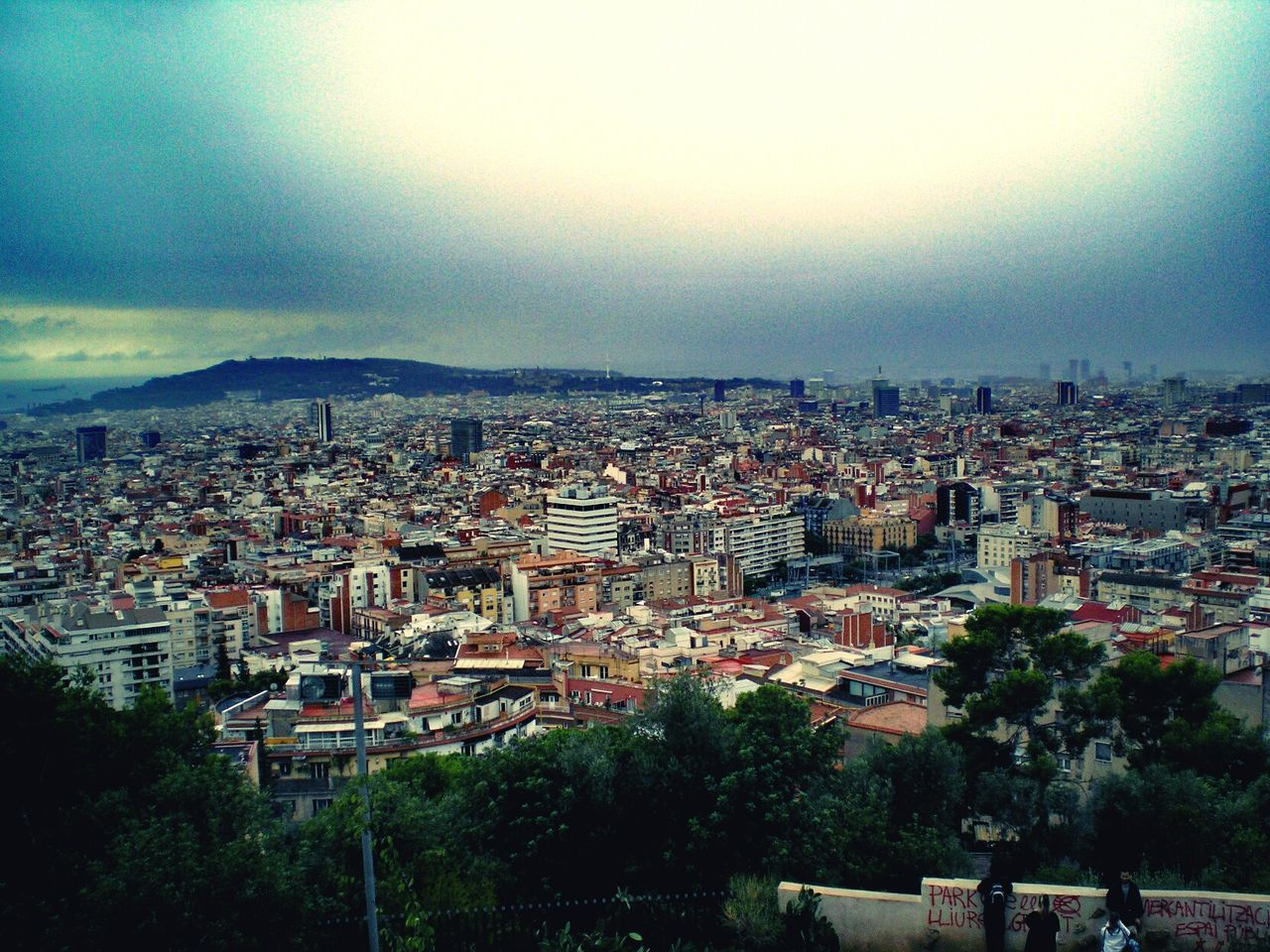 Barcelona Amazing Olimpus Tranquility Architecture No People Cityscape Tree Building Exterior Outdoors Day City Sky Nature