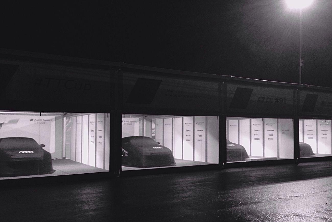 Night Nurburgring 24 Hours Race Feierabend Audi Blackandwhite