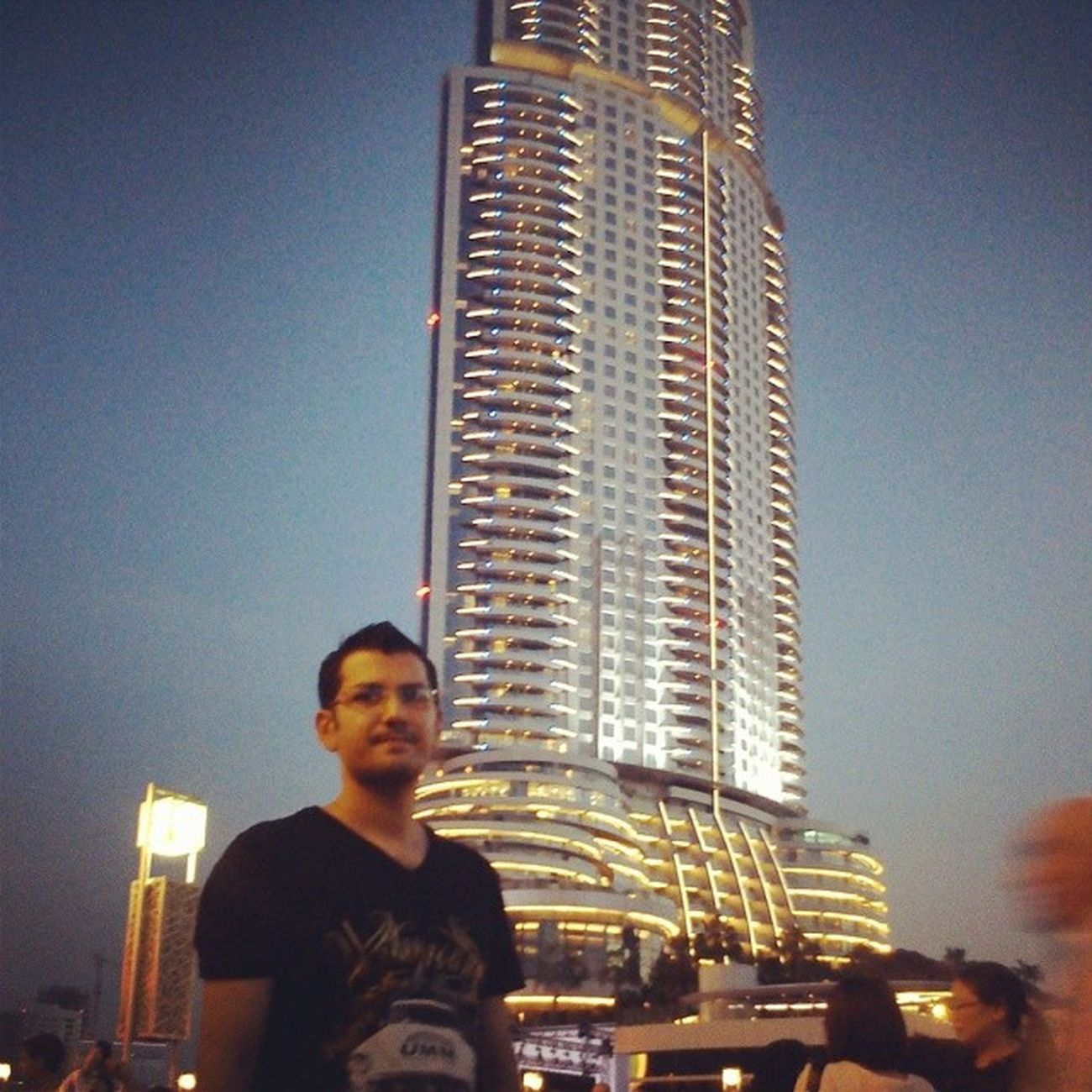 Building opposite to Burjkhalifa Dubai Expo2020