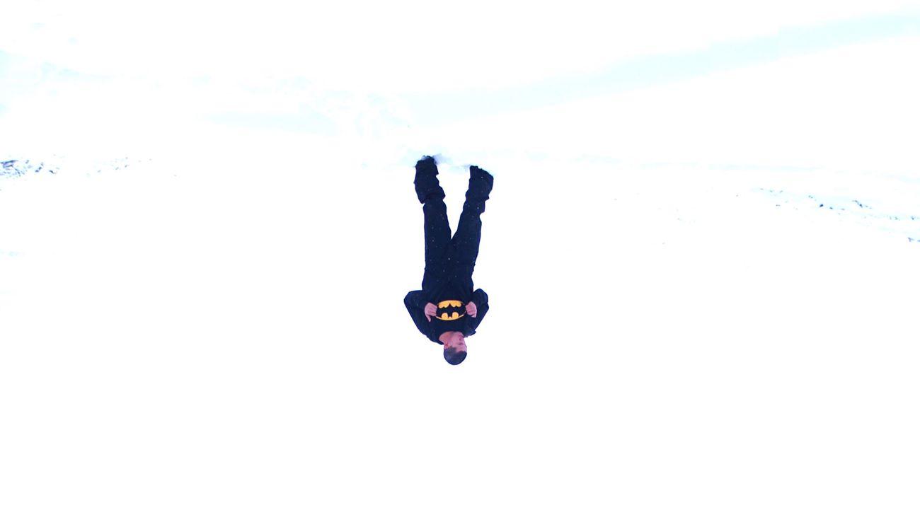 Batman Check This Out Hello World That's Me Nature Snow ❄ Self Portrait Selfportrait Mountains Mountain