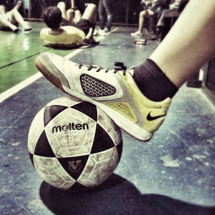 This photo deserves another post. Thanks @muffytirona for the photo! Futsal Nike Molten MiriamCollege goodtimes snapseed hdr instagramthatshit