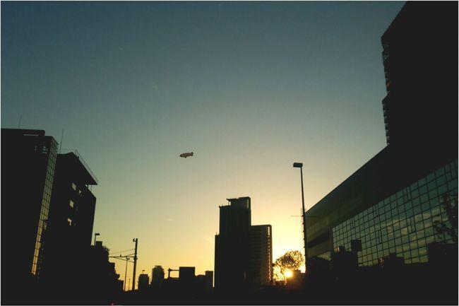 Japan Kobe 空 Sky Evening 日本 神戸 夕方 Sunshine 夕焼け空