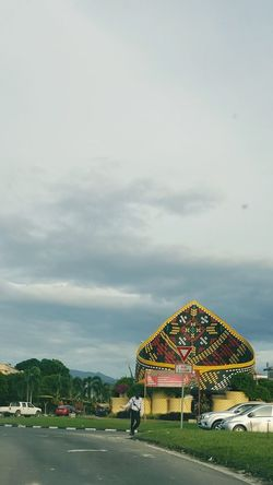 Blue Sky And Clouds Traffic EyeEmNewHere Borneo Sabah Arts Culture And Entertainment Built Structure Outdoors Summer Architecture Sky Multi Colored Day EyeEm Ready