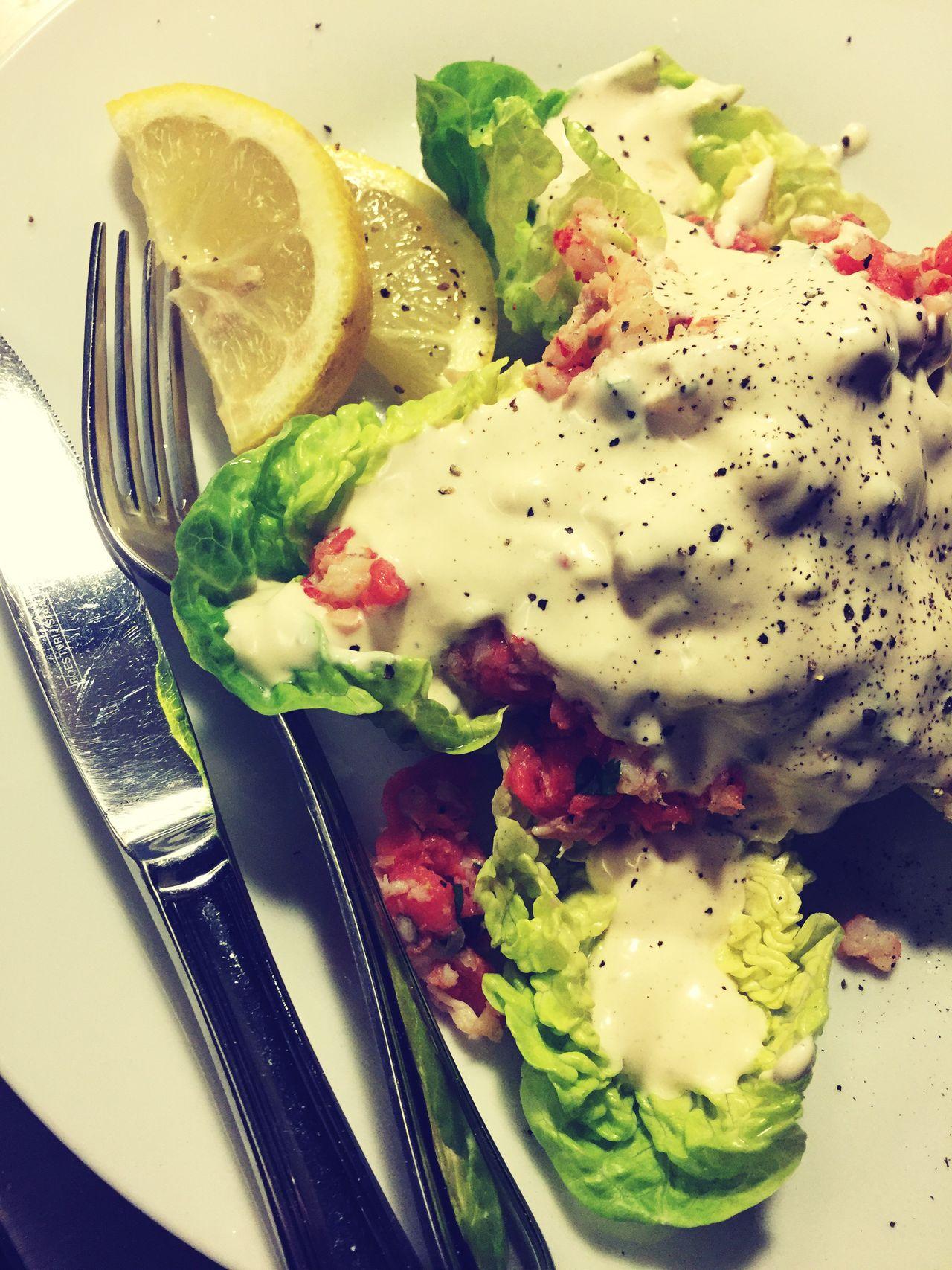 River Lobster Salad At Home 😋