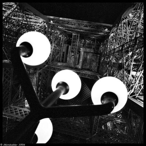 Black And White Blackandwhite Black & White Effeil Tower La Tour Effel Traveling Paris 35mm 1994
