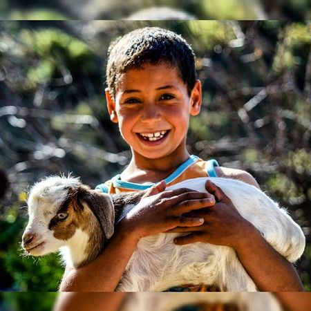 S M I L E ! View from: Ainalmou Oujda Maroc Morocco People Peace Nature Life Village Town Truth Emotion Harmonie