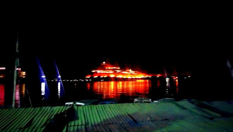 Hanging Out Taking Photos Check This Out Hello World Relaxing Hi! Enjoying Life 43 Golden Moments Illusive Design Mountain Light In The Darkness Night Lights Hill Abol Hawa Aswan Aswan, Egypt Aswan ♥♥ Egypt Egyptology Architecture Nile Nile River River At Night Reflection