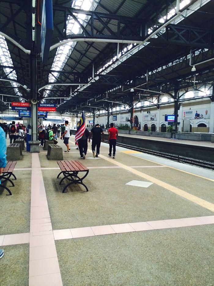Malaysia Train Station 国庆