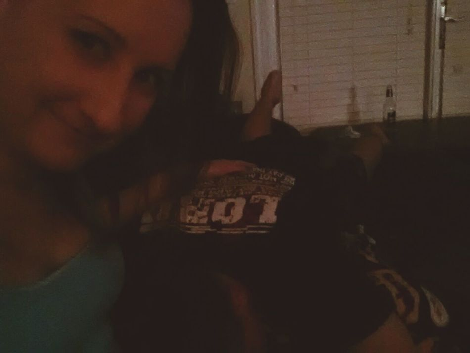 I love bum evenings with my cuddle bug