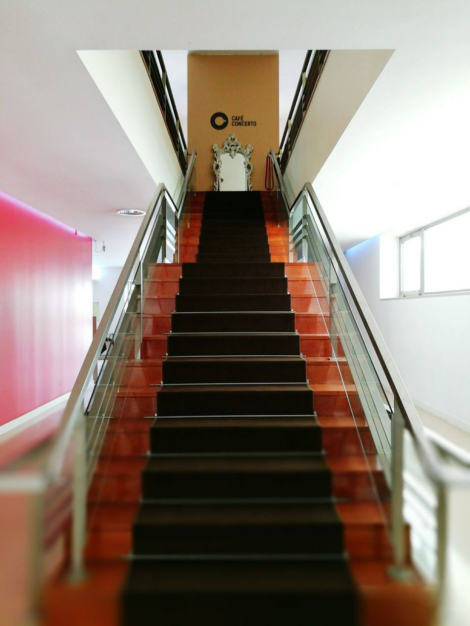 Indoors  Steps And Staircases Staircase Steps Architecture Modern No People Day Politics And Government The Secret Spaces