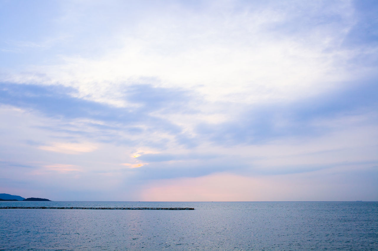 Beach Beauty In Nature Horizon Over Water Japan Nature No People Outdoors Scenics Sea Sky Sunset Tokyo Bay Tranquil Scene Tranquility Water