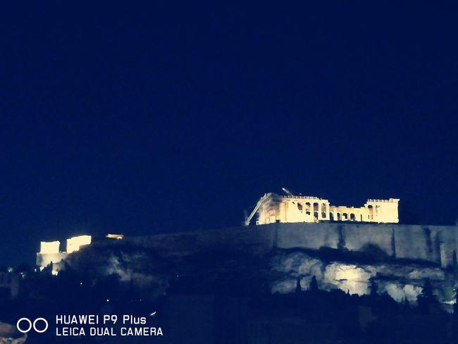 Greece Athens Breathtaking View Akropolis Parthenon Acropolis Greece
