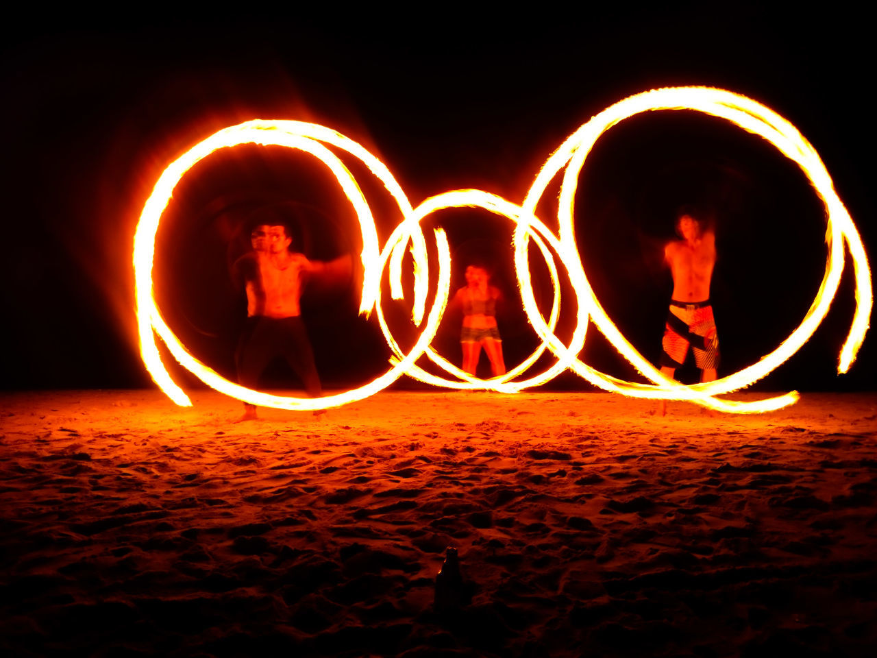 Photography In Motion Eyeem Philippines Eyeemphotography Beachatnight FireDancers EyeEm