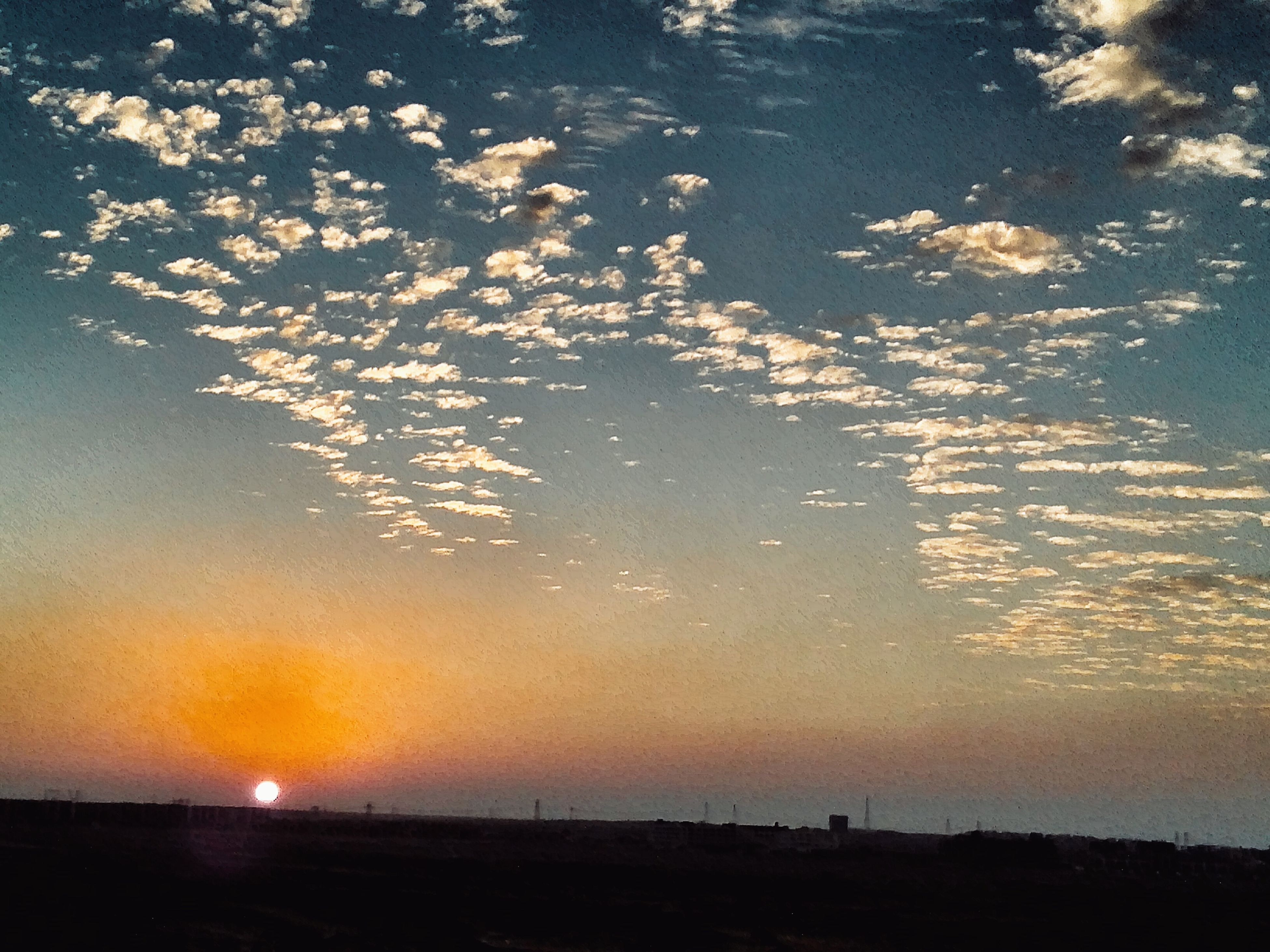 sunset, sky, cloud - sky, no people, outdoors, beauty in nature, nature, astronomy