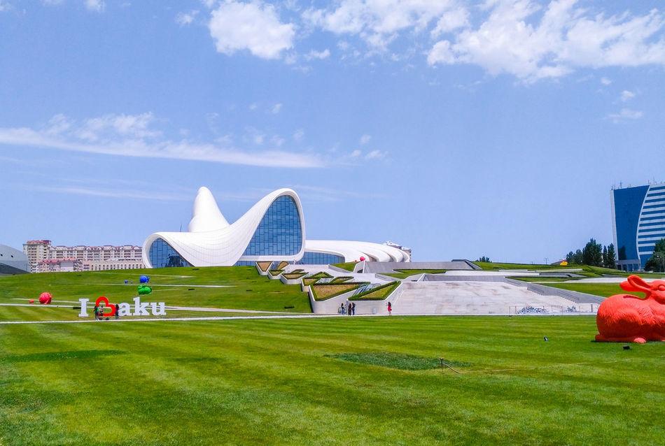 Adapted To The City Azerbaijan Baku Baku♡♥ Museum I Love Baku❤️ Travel Destinations Travel Tourism City Vacations Tourist Cloud - Sky Grass Sky Outdoors Cultures Architecture Day Cityscape EyeEmNewHere Miles Away