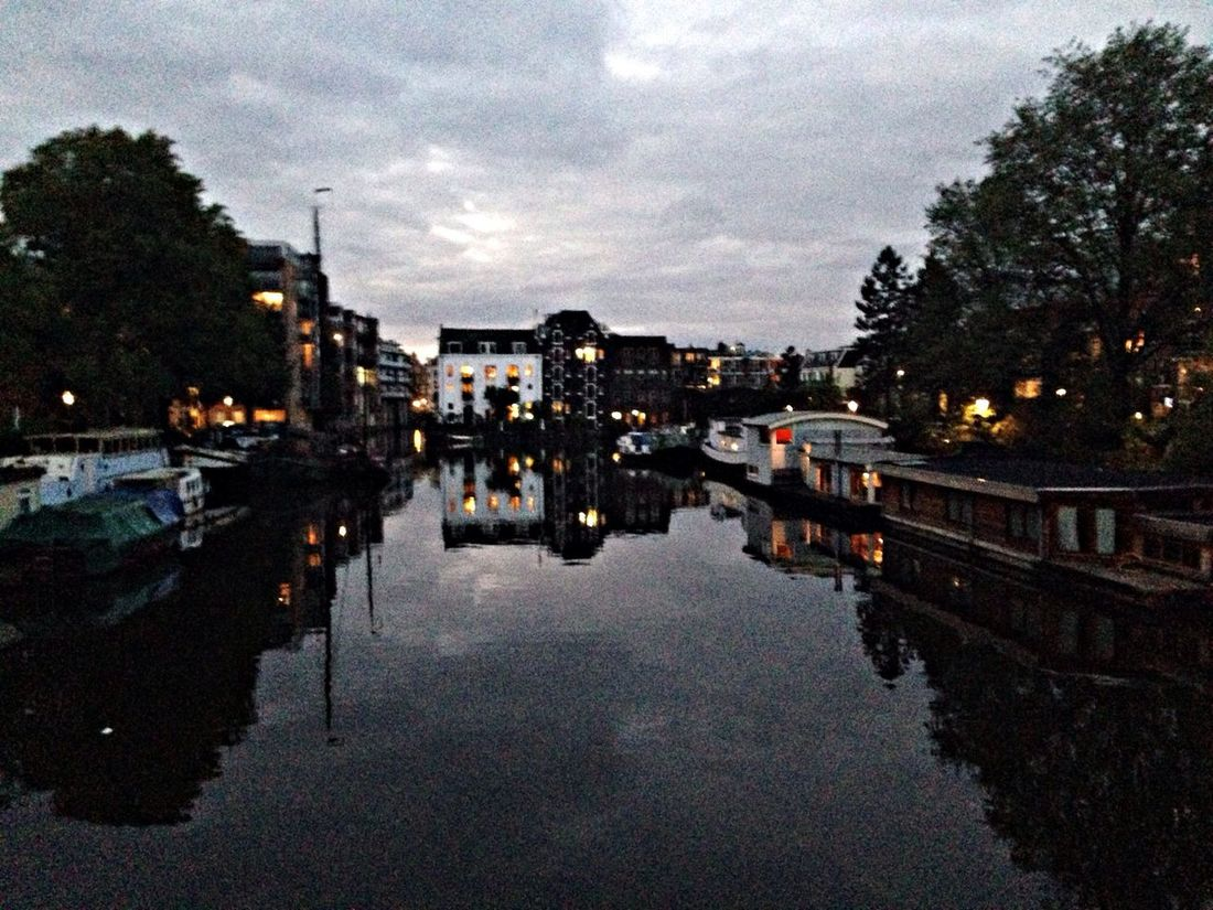 2nd Day! view on the way home after Sbcamsterdam