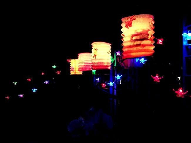 Night Illuminated Celebration Lighting Equipment Traditional Festival Lantern Multi Colored Outdoors No People Nightlife City Fullmoonday Myannar Thadingyut Festival