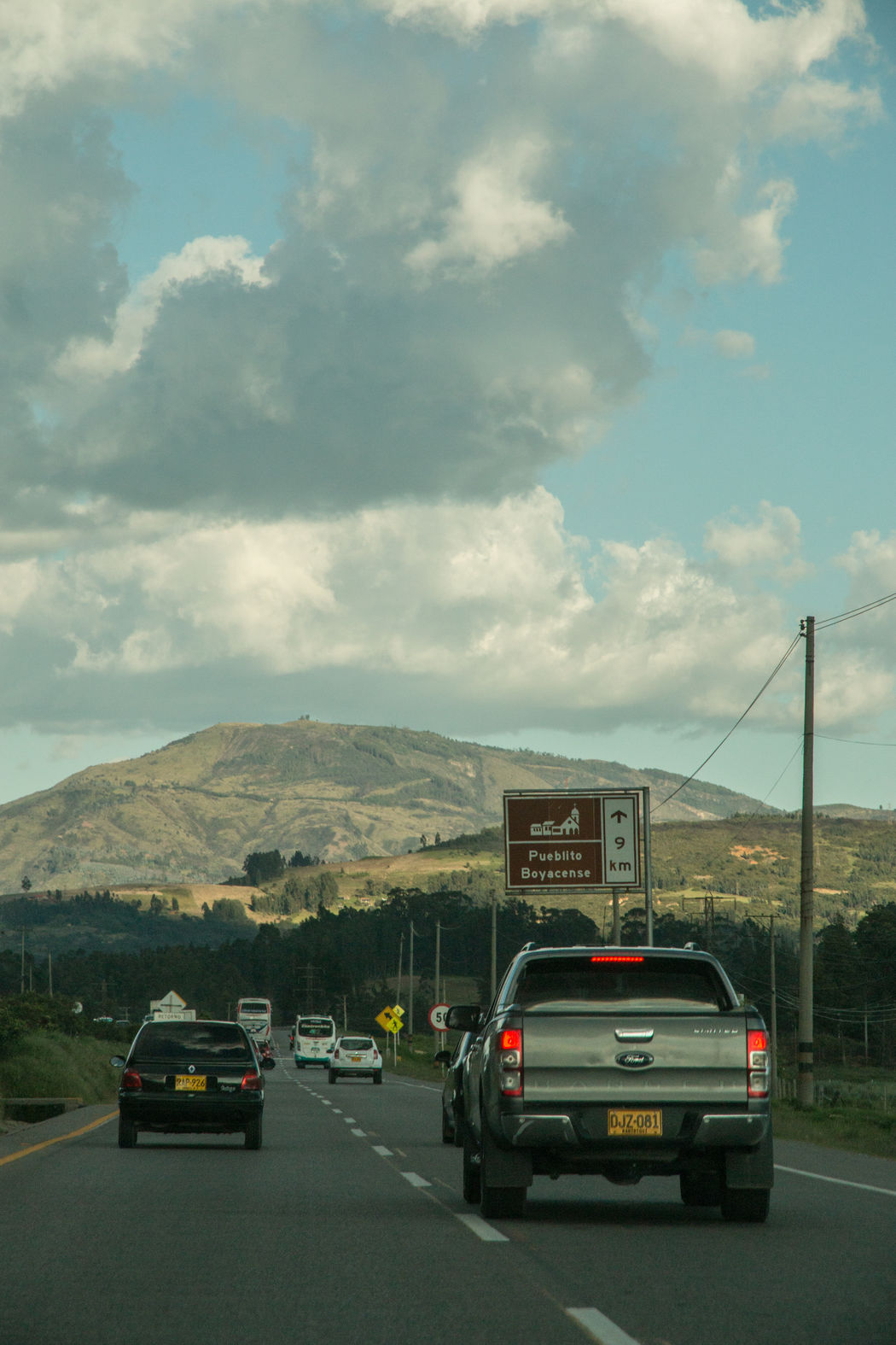 Boyaca Boyacá, Colombia Car Colombia Daylight Incoming Car Incoming Vehicle Open Road Outdoors Transportation
