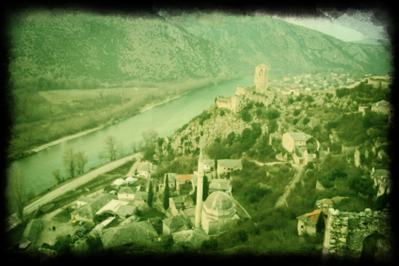 Old Town Castle And Mosque Fortified Town River And Town Old Monastery Old Building  Historic