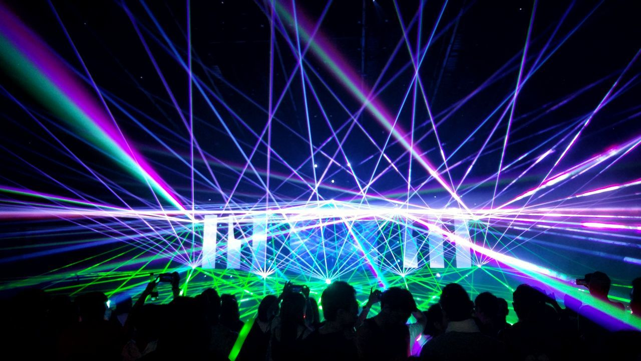 Nightlife Laser Night Fun Enjoyment Crowd Music Stage Light Popular Music Concert Music Festival Event Multi Colored Indoors  Edm Edmlife Edmlifestyle Edmlovers Rave Ravers  Raveparty Rave Party Trance Trancefamily Trancemusic Trancemission