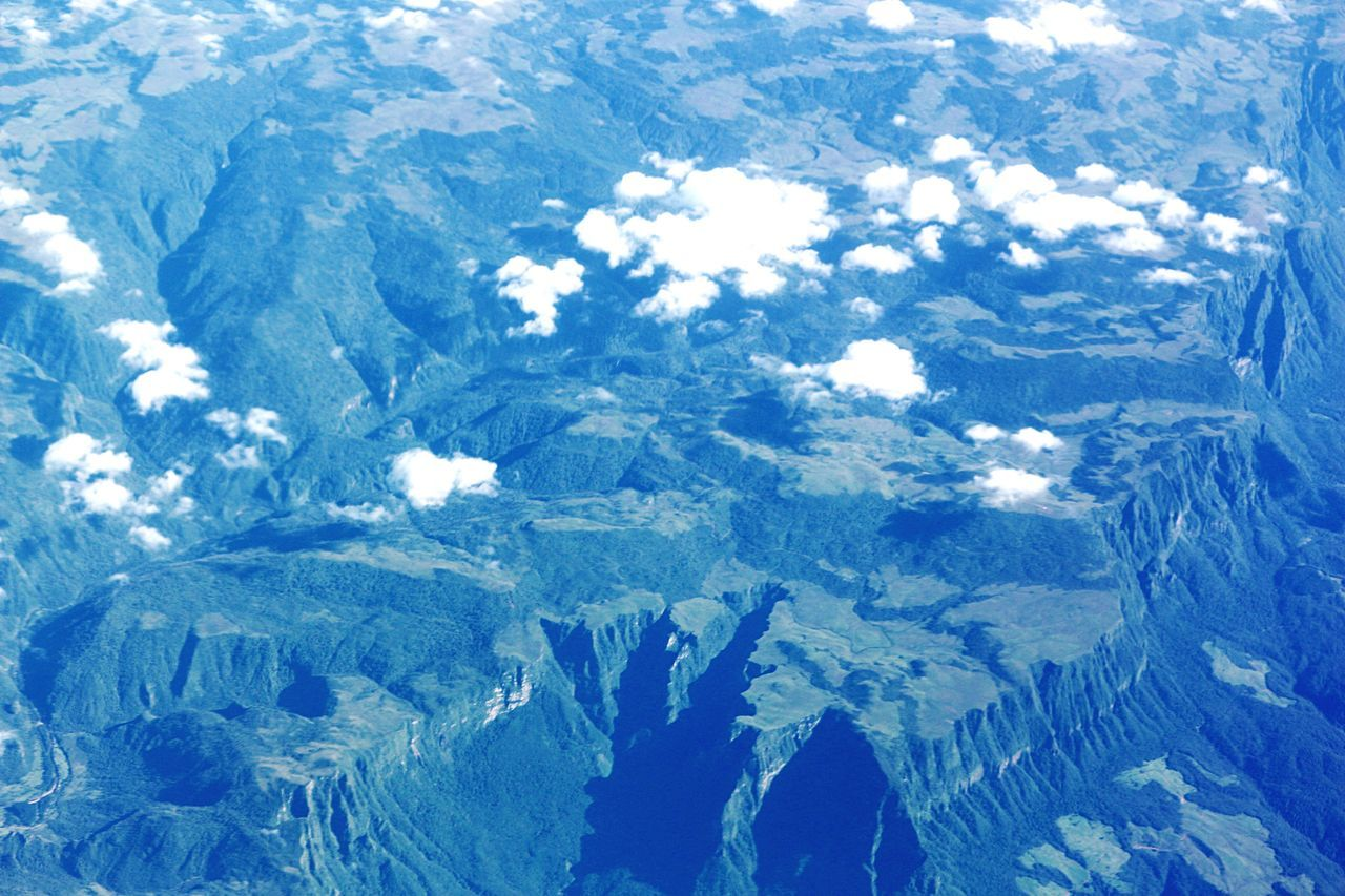 The Great Outdoors With Adobe From An Airplane Window From Above.. Clouds Forest Park Geological Formation Canyons Bioma National Park Parque Nacional Aparados da Serra. Atlantic Forest Conservatio Unit Conservation Park Biodiversity Beautiful Nature Cliffside Park Mountains