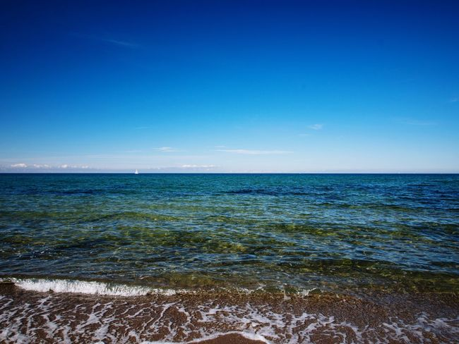Landscapes With WhiteWall 🌊 Enjoying Life Baltic Ocean Ostsee Seascape Beautiful Day Ostseeküste Nature Baltic Sea Riedensee Kühlungsborn Travelling Taking Photos Beach