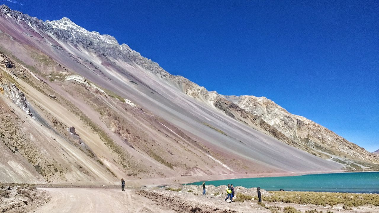 The Great Outdoors - 2017 EyeEm Awards Nature Outdoors Beauty In Nature Blue Vacations Scenics Sky Day Cajon Del Maipo Cajondelmaipo Andes Andes Mountains Andesmountains Cordilheira Dos Andes