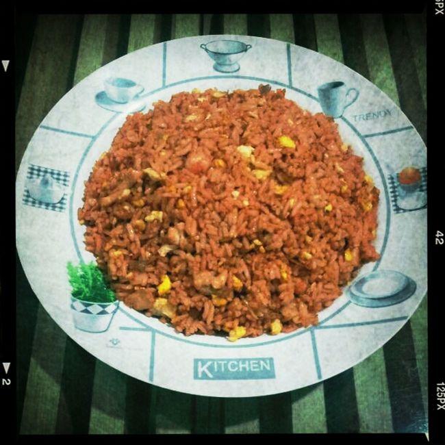 Nasi Goreng, made by myself