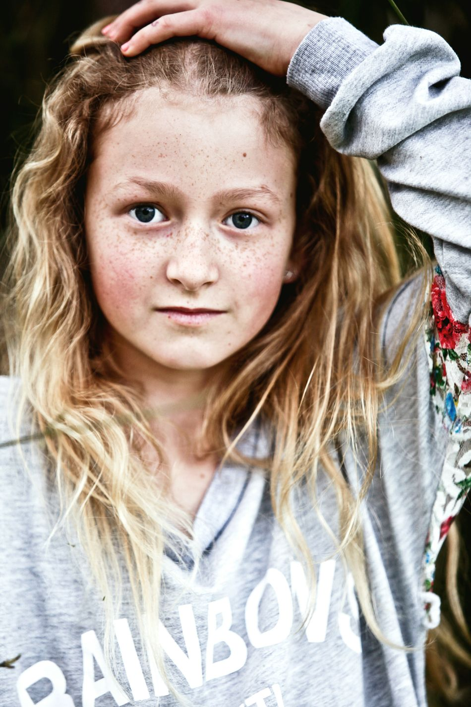 Portrait Child Girl Girls Looking At Camera Children Only One Girl Only Front View One Person Long Hair People Headshot Close-up Face Freckle Freckles Beauty Beautiful People Beautiful Girl Beautiful Girls  Natural Beauty