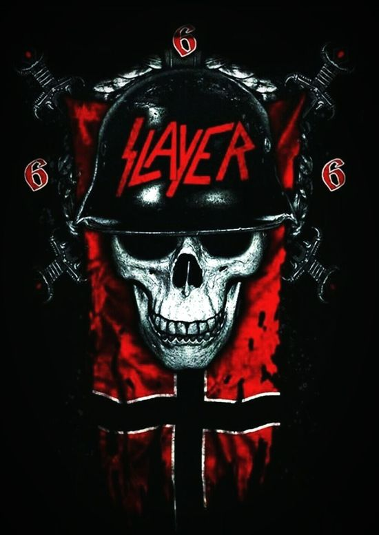 Gothic Photography EyeEmNewHere Black Scratch Artwork Check This Out Bands Artists Cool Singer/Song Writer sicConcert Photography Slayer Devil Evil Dark Satanic Skull Art Music Music Artwork Album Artwork Nazis Wermacht Reign In Blood South Of Heaven Live Music Raining Blood