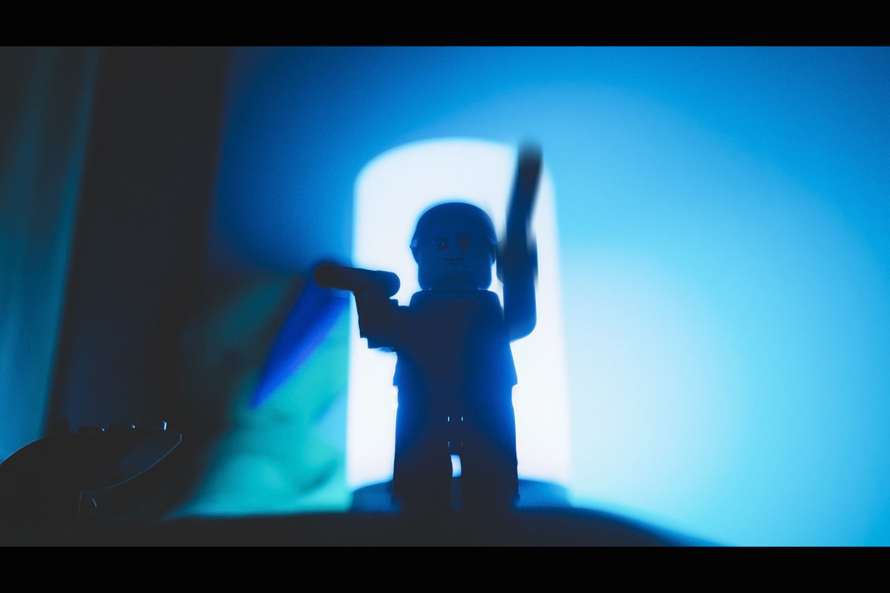 16:9 16:9 Ratio 16x9 Blue Cinematic Cinematic Photography Cinematic Shots CinematicToyPhotography LEGO Lego Minifigures Lego Star Wars  Legophotography Miniature Silhouette Star Wars Still Life StillLifePhotography