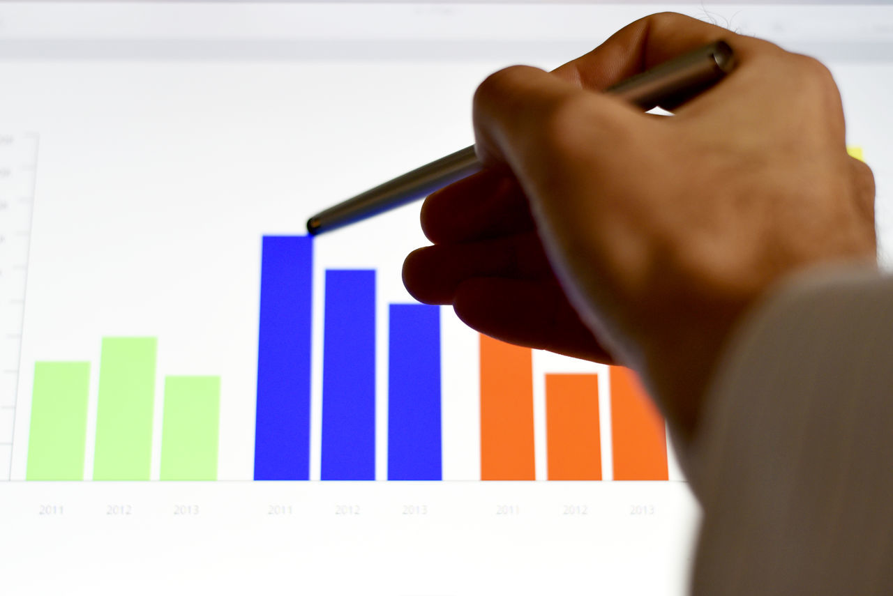 Data Analysis Analysis Business Businessman Charts Colorful Computer Data Finance Focus On Foreground Graphics Graphs Hands Investing Keyboard Market Office Point Of View Stylus Technology Touch Screen Trends Typing, Working