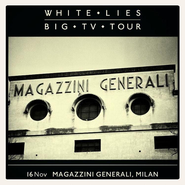 White Lies Big TV Milan