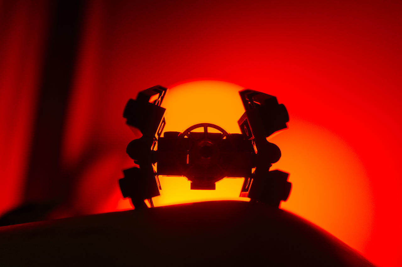 Eye4photography  LEGO Lego Adventures Lego Minifigures Lego Star Wars  Legoaddict Legominifigures Legophotography Miniature Red Red Red Background Rogue One Scenics Science Fiction SpaceShip Star Wars Still Life Still Life Photography StillLifePhotography Sunset TIE Advance