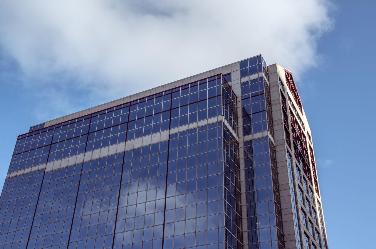 Beautiful stock photos of glas, Architecture, Blue, Boston, Building