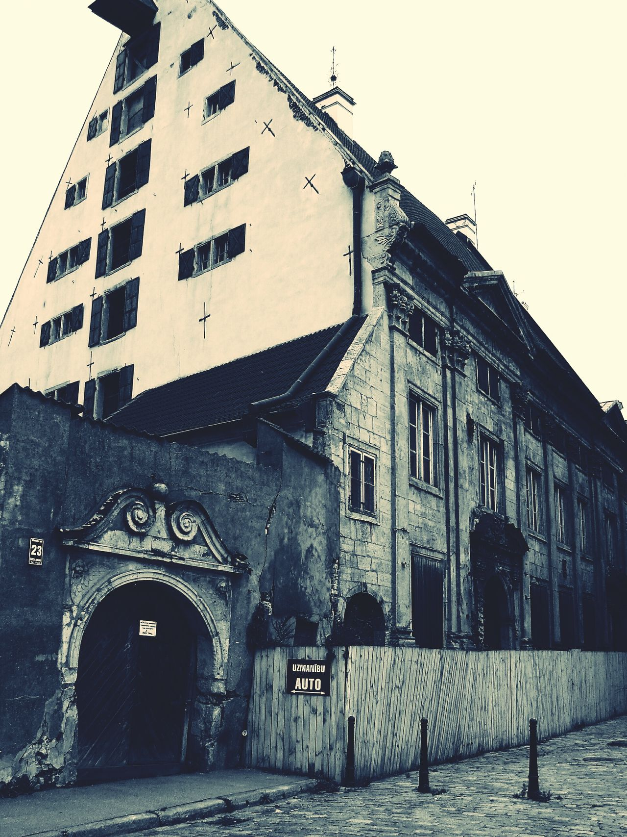Architecture Built Structure Building Exterior City Arch History Outdoors Sky Day No People Latvija Old Town Riga Vintage Photo The Architect - 2017 EyeEm Awards Neighborhood Map Riga Latvia