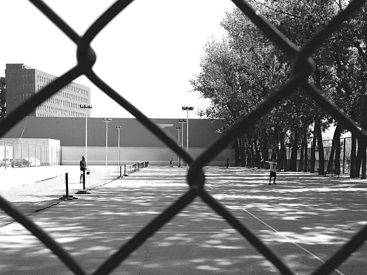 Mans Tennis Practice Streetphotography Popular Photos Taking Photos Young People Black And White