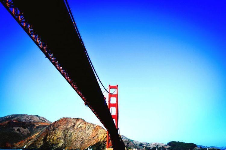 Ferry going under Golden Gate Bridge, San Francisco Golden Gate Bridge San Francisco