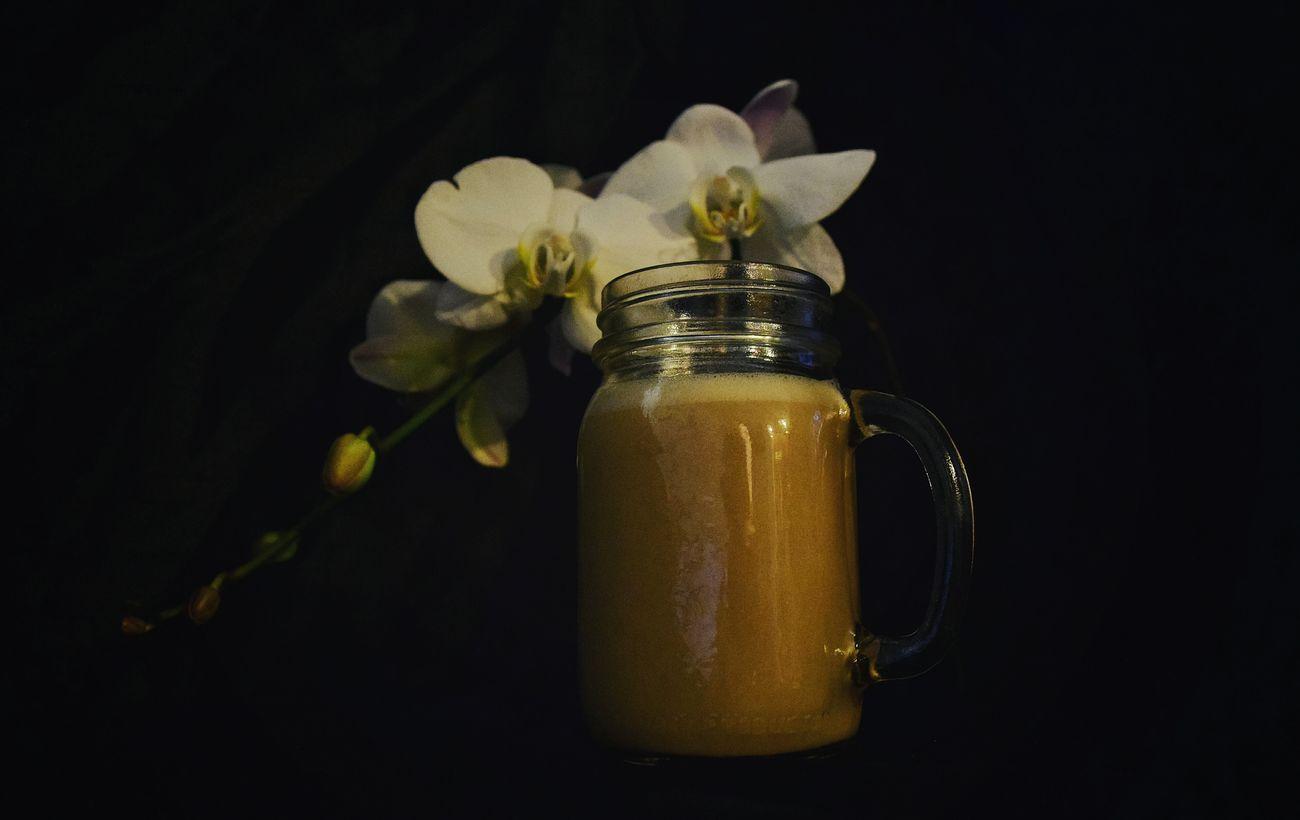Liquid Lunch mmm I love my coffee!! Showcase: February Black Background Eye4photography  Orchid Blossoms EyeEm Gallery EyeEm Best Shots Nikond3300 Coffee Coffee Time EyeEmBestPics Fine Art Photography