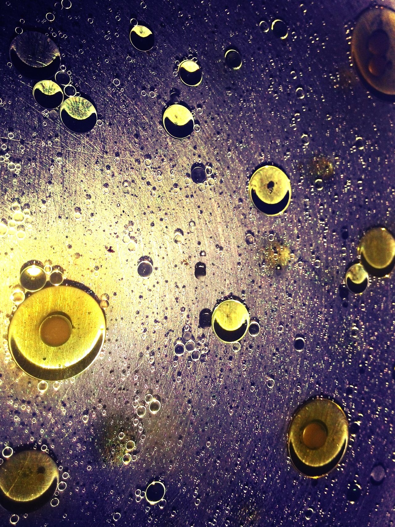 Maximum Closeness Oil Oil In Water Globules Science