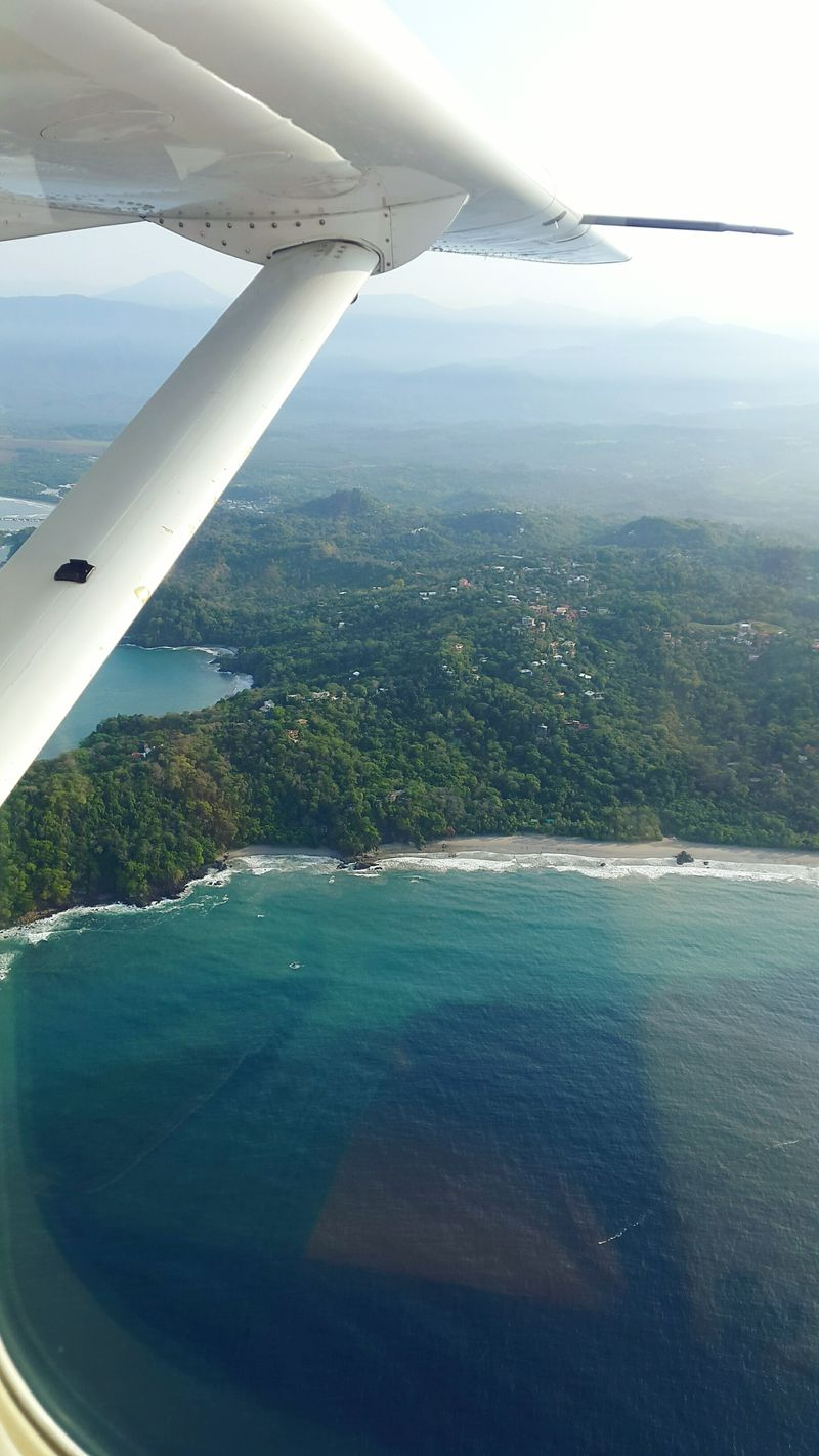 Aerial Photography Aerial View Aerial Shot From Above  Costa Rica Costa Manuel Antonio Puddle Jumper Private Flight Single Aviation Outdoors Gypsy Mobilephotography Travelwithme Outdoor Photography Travelagent EyeEmBestPics Wanderlust