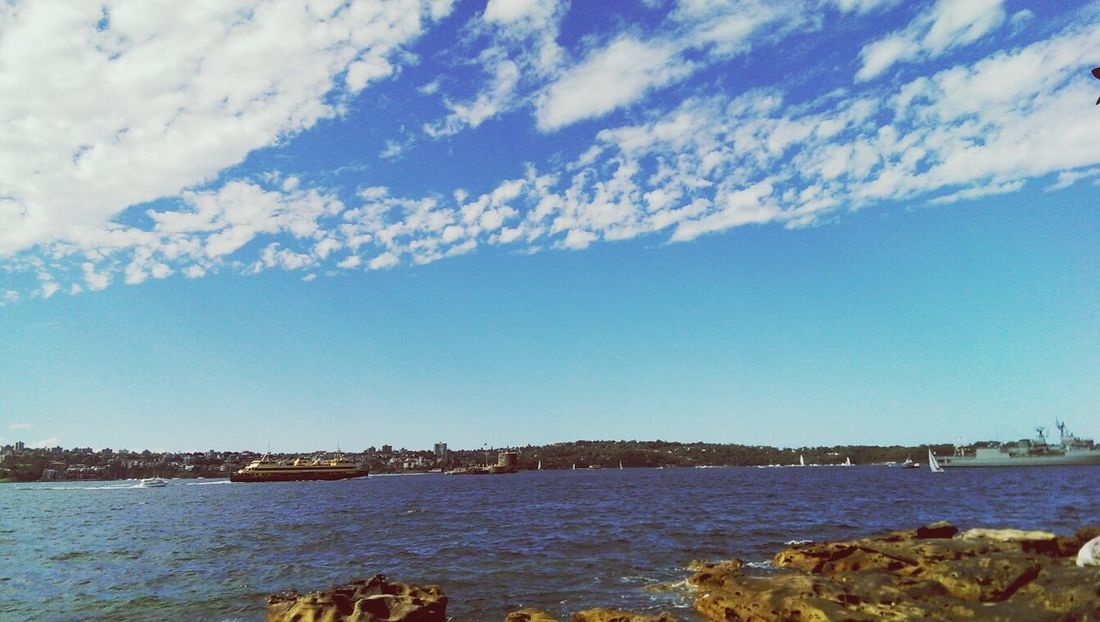Manly ferry passing by! Enjoying The Sun View Taking Photos Fresh Air
