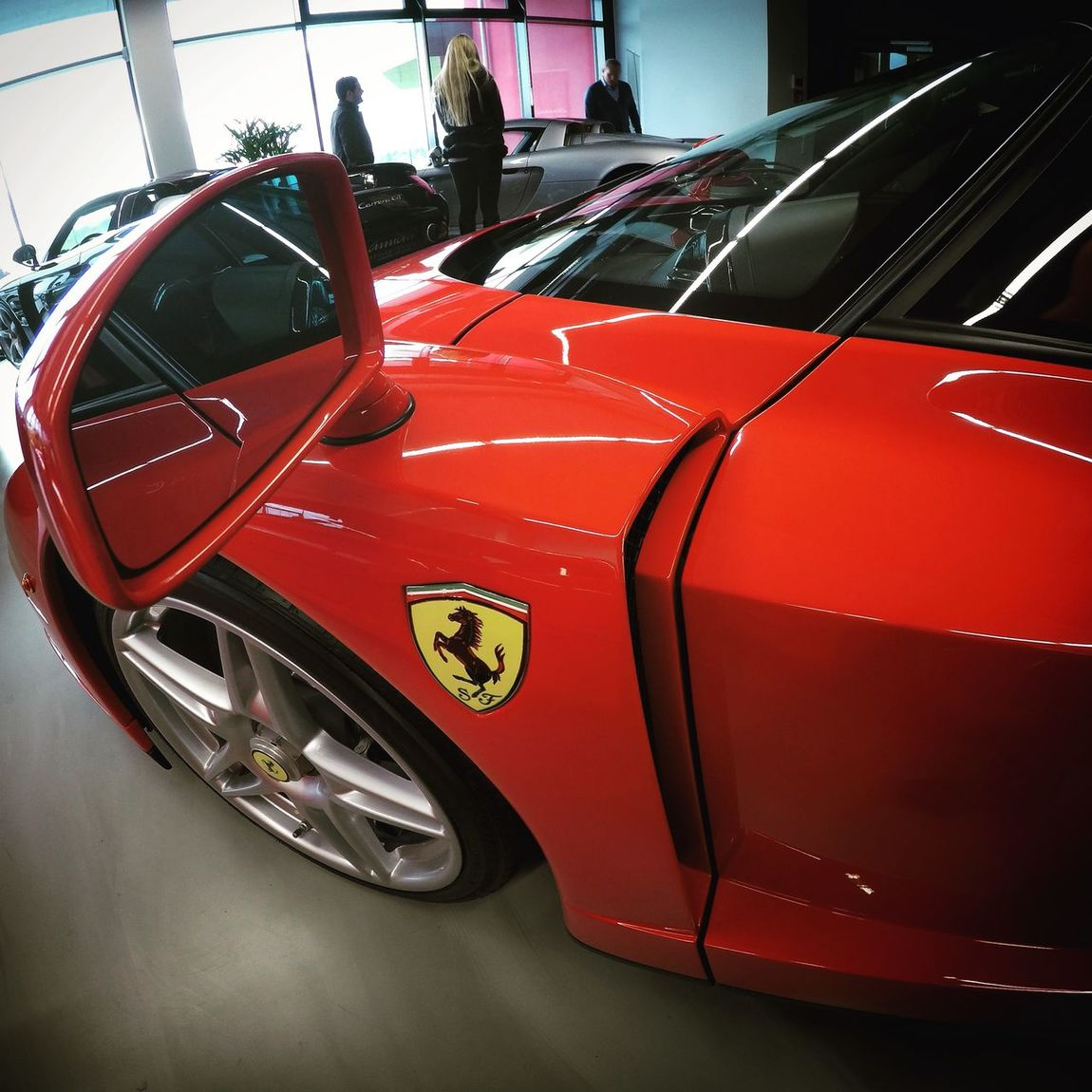 Taking Photos Ferrari Enzo Red Limitededition Car Cars Fast Best  Vehicle Germany
