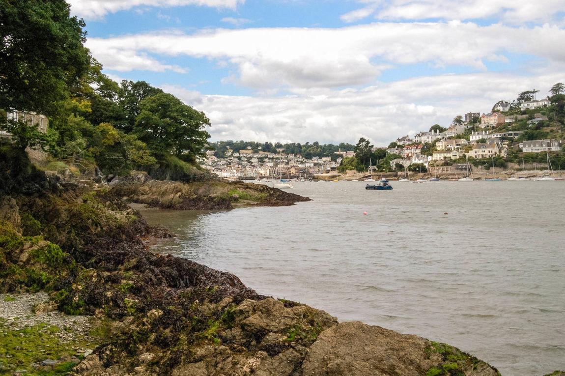 Cloud - Sky Dartmouth Devon Estuary Kingswear No People Outdoors River River Dart Rocks Seaweed Water