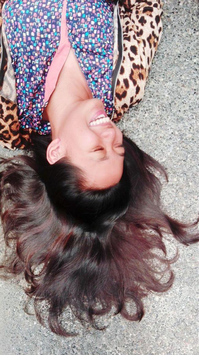 Let Your Hair Down Letyourhairdown Women Womens Portraiture Portrait Mobilephotography Perspective Womenofeyem Mobile Photography Women Of EyeEm Women Portraits The Portraitist - 2016 EyeEm Awards