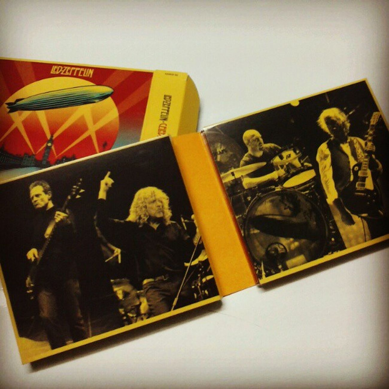 Celebrationday Johnpauljones Robertplant Jasonbonham jimmypage