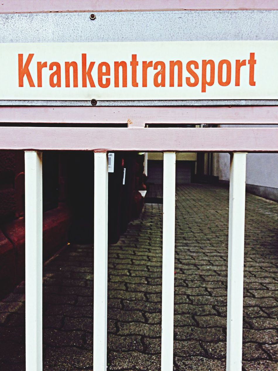Krankentransport. 2014 Krankentransport Streetphotography Street Street Photography Signs Unusual Signs Typography
